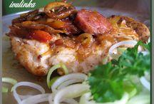 recepty,kuřecí maso