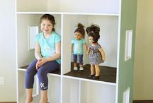 "18"" or American Girl Doll Furniture and Dollhouse Tutorials"