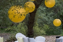Yellow & White Outdoor Event / We have everything you need to host a beautiful outdoor event.