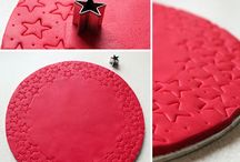 Covered cake boards