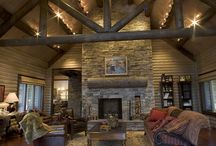 Spaces to love / Cabin livingrooms