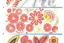 Росписи и орнаменты
