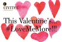 Valentine's Special / On Valentine's #LoveMeMore @ Civitel Olympic & Civitel Attik!