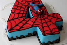 Brendan Spider-Man birthday