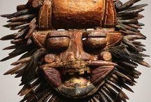 Masks & Ethnic Scupture /  Musical Instruments and Art / by Susan Garnett