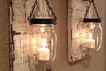 Fowler jars with Driftwood