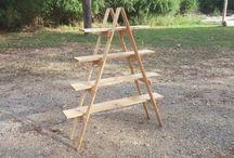 Portable Display Ladders