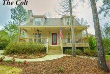 Colt Plan / The Colt House Plan 1.5 Story 3 Bedrooms 2 Bedroom 1350 sq ft