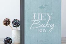 Hey Baby Boy!! / A selection of baby boy inspiration in duck egg blue shades...