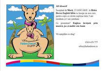 Noutăți la Helen Doron English Sibiu / News about our new #english #courses, demo lessons, etc.