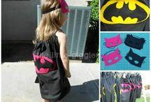 bat girl stuff