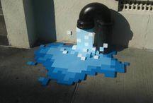 Guerilla Art / Street art. Impromptu art. / by charley mccoy