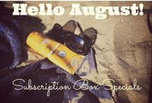 {Monthly Subscription Box Specials}