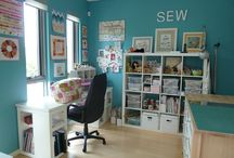 Sweet Home: Sewing room