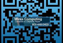 Website QR code / Wires computing