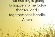 affirmations and prayers