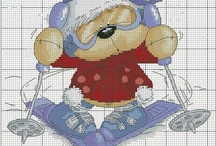 Cross stitch ~ Cartoons and fun characters