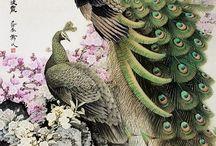 Påfugle