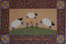 Sheep jump funny