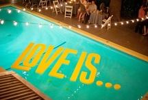 Palm Springs/Retro Pool Party Bridal Shower