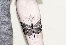 Insect tattoo inspiration