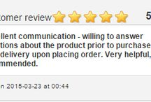 Seat Covers Reviews - Favourite Friday Feedback - 5 Stars ***** / Each week we pick our favourite customer feedback and post it on our website and social media