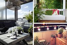 TERRACE IDEAS / Get some inspiration for summer. It's BBQ time!