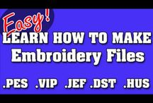 embroidery education and designs