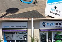 Custom and Creative Eyewear / At eyeDOCS we above and beyond to wow our patients, here are a few ways how.