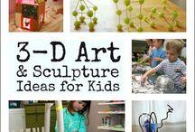 Sculpture Art/ 3D Preschool