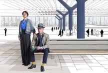 Effio X Manon Garritsen / 'Walkable City'