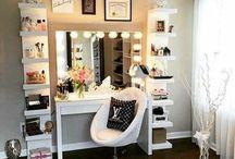 Vanity Ideas/Closet ideas