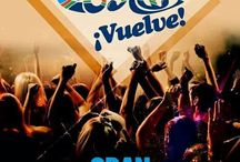 Flyers Fiestas New tropic Costa / Flyers de las fiestas que se realzan semanalmente en la Discoteca New tropic Costa Getafe