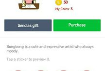 LINE Stickers by Realz19 / A board to collect my LINE sticker sets. I hope everyone will like it.