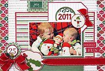 Christmas layouts