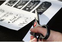 étiquettes a imprimer