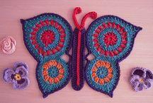 Crochet-Butterflies and Bugs