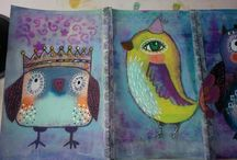 Art - Quirky Birds