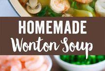 Receitas de sopa wonton
