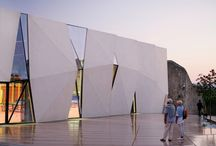 Materiality - concrete / Interesting ways of using concrete as a building material