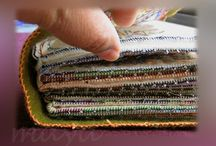Fabric Journals and Sampler Books / Fabric Journals, cloth books, sampler books - anything that resembles a book made in fabric and stitched