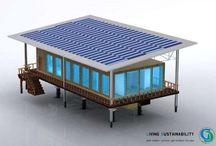 Sustainable homes / Sustainable & net zero homes and renewable energy