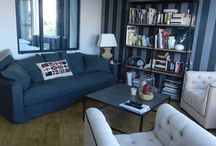Relooking Salon/séjour by Idees dans la Maison / Relooking espace Salon