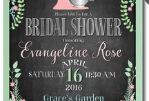Bridal Shower Ideas / by Ashlei Harvell