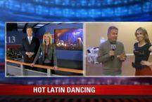 Table Settings Featured on Fox 13 / Dave Nemeth learned about different dances at DF Dance Studio Monday.