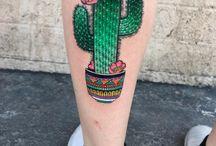 tatuagem de cactos