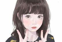 аниме kawai  <3