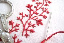 Embroidery / Patronen en steken
