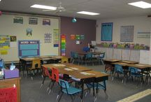 kindergarten room set up