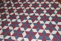 Hexagon diamond quilt
